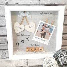 """""""All because.. two people.. fell in love"""" (LINK IN BIO ⬆⬆) #goodmorning #goodmorningig #goodmorningpost #goodmorninginsta #crafts #crafty #love #couplegoals #partnerincrime #scrabbleart #original #localbusiness #supportlocal #etsy #facebook #romantic #etsyshop #instalove #instalovers #instaquote #instapic #pretties #giftsforher #giftsforhim #anniversary #polaroidpicture #keepsake #ilovehim #helovesme #shoplocal"""