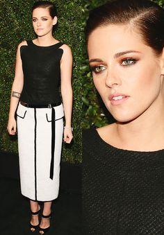 Kristen Stewart at Chanel pre-Oscar dinner