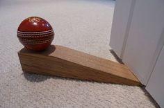 Cricket Ball Door Stop from Wicket Ideas