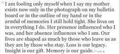 Hope Edelman - Motherless Daughters quote