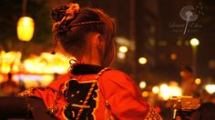 Little girl mesmerized by the rhythms of the night--Aomori, Japan Nebuta Festival 2012 (Photo by my very talented friend Laura; I was too enchanted by the lights and the drumbeats and the chants and the yakisoba and the chu-hi  to handle a camera with any skill. ;) )