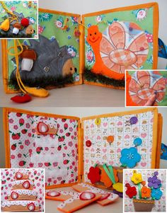 Quiet Book, Busy Book, Activity Book, Educational Sensory Toy for Toddler and…