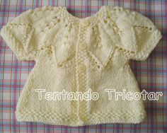 Tentando Tricotar Baby Knitting Patterns, Crochet Patterns, Bebe Baby, Crochet Bebe, Knitting Projects, Autumn Leaves, Blouse, Sweaters, Women