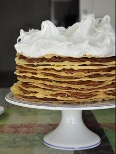 Torta Chilena Recipe, Bien Tasty, Argentina Food, Argentina Recipes, Crepes And Waffles, Pancakes, Delicious Desserts, Yummy Food, Sweet Cooking
