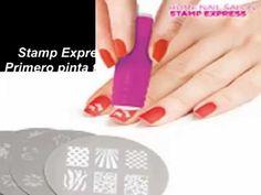 Set de Decoración de Uñas Stamp Express al mejor precio en Tienda Compra...