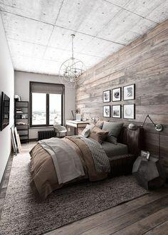 50 Rustic Master Bedroom Ideas 29
