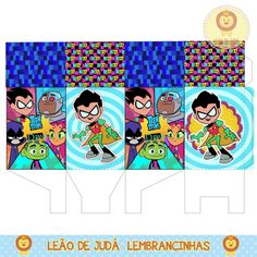 Teen Titans Go, Kids Rugs, Disney Princess, Disney Characters, Birthday, Party, Gisele, Diy, Minecraft Party Favors