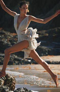 Alessandra Ambrosio for Glam Belleza Latina Spring/Summer 2015, Shot by Gilles Bensimon