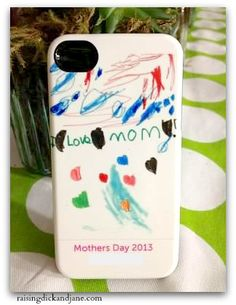 Turn your kids artwork into your next Iphone case. Love it! Enter to win one free by 5-3-13.