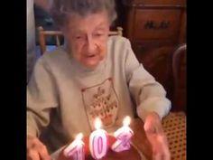 102 years Old Woman Birthday https://www.youtube.com/watch?v=jCH5oYcVcMQ