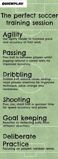 For the perfect soccer training session include these simple training techniques. #soccerdrills