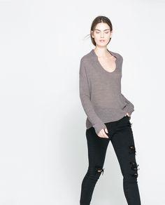 Image 2 de PULL FIN EN TRICOT de Zara