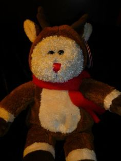 Starbucks 2003 bearista bear Rudolph the red nosed reindeer