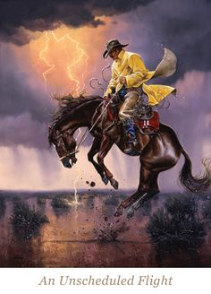 """""""Kickin' Up Dust"""" by Western artist Jack Sorenson is art created for small spaces. Cowboy Pictures, Art Pictures, Cowboy Images, Old West, Westerns, Aztecas Art, Western Photo, Western Cowboy, Art Watercolor"""