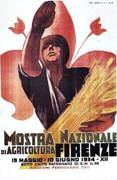 Mostra nazionale di agricoltura, Firenze, Marcello Dudovich 1934