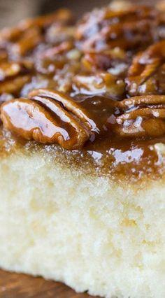 Pecan Pie Upside-Down Cake More