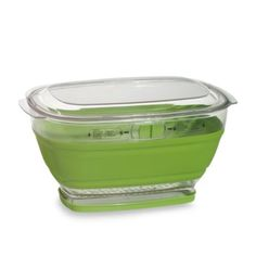 Progressive® Collapsible Lettuce Keeper  @ Bed Bath and Beyond / Sur La Table/Walmart.........Lettuce Keeper allows you to wash and store fruits, vegetables and herbs with ease. 4-quart capacity