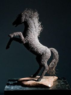 Iron Wire Sculpture by Mattia Trotta Inspirational Phone Wallpaper, Quotes Inspirational, Italian Sculptors, Iron Wire, Modern Metropolis, Welding Art, Sculpture Art, Wire Sculptures, Italian Artist