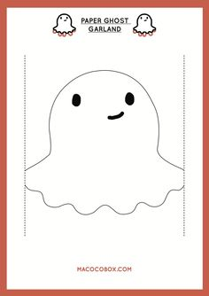 Envie de réaliser une guirlande de petits coco-fantômes pour Halloween ? Retrouvez Charlotte sur le blog ! http://www.macocobox.com/blog/la-guirlande-coco-fantome-3/