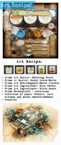 Finnabair: art recipe