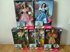 New! 1999 Pink Box Collection Set of 5 Wizard of Oz Barbie & Ken Dolls NRFB for USD119.95 #Dolls #Bears #Dolls #Collection  Like the New! 1999 Pink Box Collection Set of 5 Wizard of Oz Barbie & Ken Dolls NRFB? Get it at USD119.95!