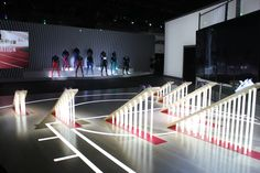 Photos from our recent set build at the recent Secret Nike Event in NYC on 3.17.16 - what an incredible set! #setdesign #setbuild #fabrication #madebycreativenyc #creativenyc