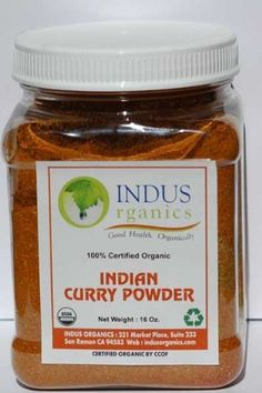 $22 Indus Organic Authentic Indian Curry Powder Spice, 16 Oz Jar, Salt Free, Freshly Packed by Indus Organics, http://www.amazon.com/dp/B008NOHY6S/ref=cm_sw_r_pi_dp_.TOVqb012948N