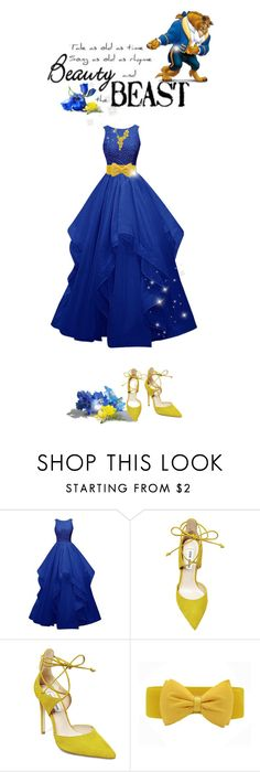 """Disney's Beauty & The Beast #beast (#763)"" by nobility99 ❤ liked on Polyvore featuring Steve Madden and Carrera y Carrera"