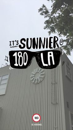 180LA Targets Other Agencies With Snapchat Geofilters to Nab a Social Media Manager