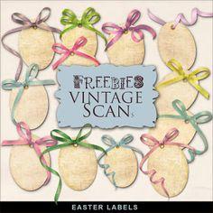 Freebies Easter Labels Kit
