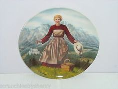 Sound of Music Movie First Collector Plate Knowles Julie Andrews