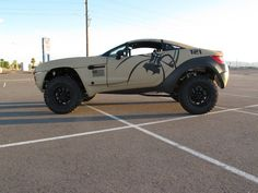 Spike's Tactical Rally Fighter. Two favorite things, guns and cars.