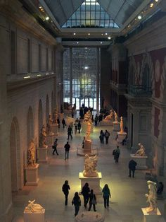 Lost in Museum...The Metropolitan Museum of Art, New York, photo via The Metropolitan Museum of Art.
