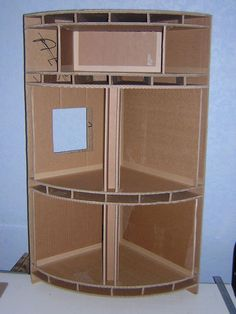 1000 images about avec du carton on pinterest cardboard for Construire meuble en carton