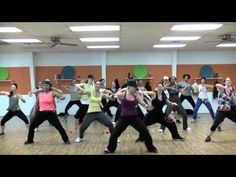 "Macklemore ""Thriftshop"" choreography workout...love it!!"