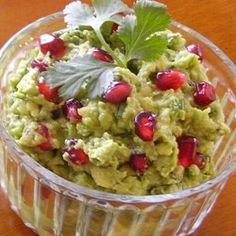 """Pomegranate Guacamole 