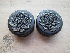 Alargador de Madeira Ebony Lotus Bronze