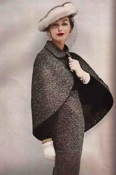 Vogue 1956 #1950s http://tammy17tummy.tumblr.com/post/27857178365/vogue-1956