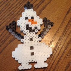 Olaf perler beads by loomatic101