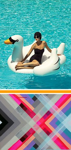 I may let you borrow my giant floaty pool swan, but probably not.