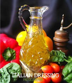 Paleo Italian Dressing Recipe - paleocupboard