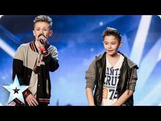 These two young boys sing a song written by them about bullying. I can not get through the song without crying. Absolutely amazing voices. Cant wait for it to turn up on Itunes.