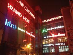 Galeria #Neon Side, podwórko przy ul. Ruskiej, #Wrocław