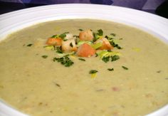 Australian Crab and Asparagus Soup