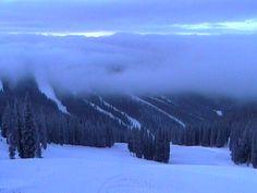 Winter storm sitting over North Peak at Keystone Resort. #KeystoneResort #Colorado #ski #RiverRunVillage #SilverMill8210