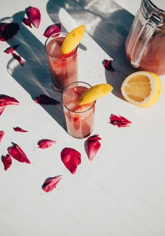strawberry rosewater chia fresca / The First Mess