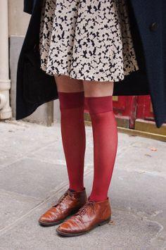 lace ups + socks