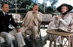 """Śmierć na Nilu""- David Niven, Peter Ustinow, Bette Davis - 1978. Month: Death on the Nile (1978)"