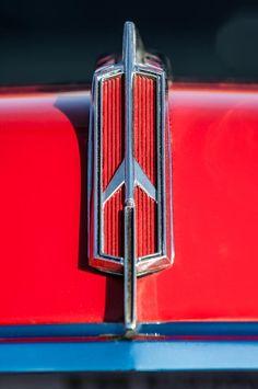 1965 Oldsmobile 442 Hood Emblem -0096c by Jill Reger