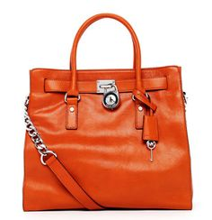 MICHAEL Michael Kors Large Hamilton Tote. I wouldn't mind wearing this at a Vols game!!!!